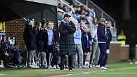 CHAPEL HILL, NC - NOVEMBER 29: Head coach Anson Dorrance of the University of North Carolina during a game between University of Southern California and University of North Carolina at UNC Soccer and Lacrosse Stadium on November 29, 2019 in Chapel Hill, North Carolina.