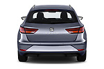 Straight rear view of a 2018 Seat Leon ST Style 5 Door Wagon stock images