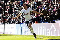 Harry Kane of Tottenham Hotspur celebrates scoring the opening goal during Crystal Palace vs Tottenham Hotspur, Premier League Football at Selhurst Park on 25th February 2018