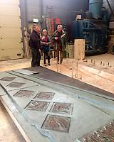 Bronsgieterij Hans Steylaert in Waardenburg