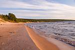 Great Sand Bay on Lake Superior in the Keweenaw Peninsula.