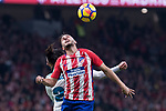 "Atletico de Madrid Francisco Roman ""Isco"" and Real Madrid Koke Resurreccion during La Liga match between Atletico de Madrid and Real Madrid at Wanda Metropolitano in Madrid, Spain. November 18, 2017. (ALTERPHOTOS/Borja B.Hojas)"