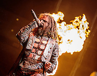 LAS VEGAS, NV - September 29:  Rob Zombie perfoms at Mandalay Bay Events Center on September 29, 2012 in Las Vegas, Nevada. © Kabik/ Starlitepics/MediaPunch Inc. /NortePhoto