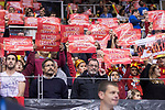 Spain supporters during FIBA European Qualifiers to World Cup 2019 between Spain and Slovenia at Coliseum Burgos in Madrid, Spain. November 26, 2017. (ALTERPHOTOS/Borja B.Hojas)