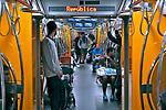 Transporte de pessoas no metro. Sao Paulo. 2017. Foto © Juca Martins.