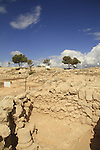 Excavations at Hurvat Eked, remains of a fortress from the Hellenistic period, the fortress was  also used by the rebels during the Bar Kokhva revolt against the Romans
