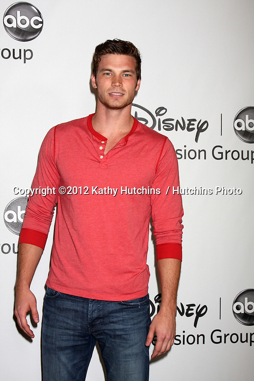LOS ANGELES - JUL 27:  Derek Theler arrives at the ABC TCA Party Summer 2012 at Beverly Hilton Hotel on July 27, 2012 in Beverly Hills, CA