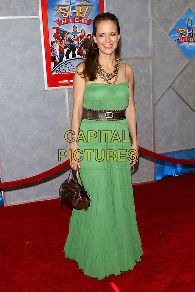 "24 July 2005 - Hollywood, CA - Kelly Preston. World premiere of ""Sky High"" held at The El Capitan Theatre..Photo credit: Jacqui Wong/AdMedia"