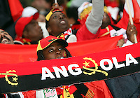 Angolan fans. Mexico and Angola played to a 0-0 tie in their FIFA World Cup Group D match at FIFA World Cup Stadium, Hanover, Germany, June 16, 2006.