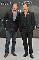 James Purefoy &amp; Jason Isaacs at the &quot;The Legend of Tarzan&quot; European film premiere, Odeon Leicester Square, Leicester Square, London, England, UK, on Tuesday 05 July 2016.<br /> CAP/CAN<br /> &copy;Can Nguyen/Capital Pictures /MediaPunch ***NORTH AND SOUTH AMERICAS ONLY***