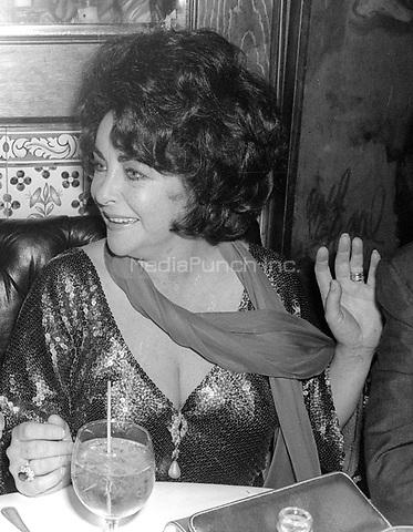 Elizabeth Taylor 1978<br /> Photo By Adam Scull/PHOTOlink/MediaPunch