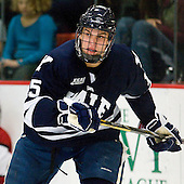 Clinton Bourbonais (Yale - 15) - The Yale University Bulldogs defeated the Harvard University Crimson 5-1 on Saturday, November 3, 2012, at Bright Hockey Center in Boston, Massachusetts.