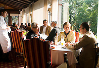 San Angel Inn Breakfast nook 16-04-10