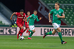 Nadiem Amiri (Leverkusen #11),  Milot Rashica (Werder Bremen #07)<br /> Niklas Moisander (Werder Bremen #18 Kapitaen)<br /> Sport: Fussball: 1. Bundesliga: Saison 19/20: <br /> 26. Spieltag: SV Werder Bremen vs Bayer 04 Leverkusen, 18.05.2020<br /> <br /> Foto ©  gumzmedia / Nordphoto / Andreas Gumz / POOL <br /> <br /> Nur für journalistische Zwecke! Only for editorial use!<br />  DFL regulations prohibit any use of photographs as image sequences and/or quasi-video.