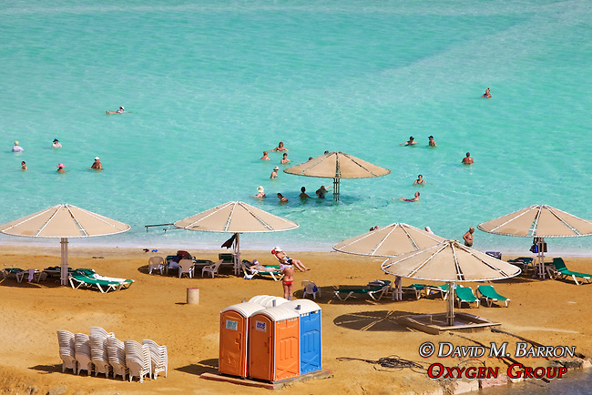 Beach At The Dead Sea