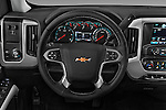 Car pictures of steering wheel view of a 2016 Chevrolet Silverado-3500HD LT-Crew-Cab-Long-Box-DRW 4 Door Pick-up Steering Wheel