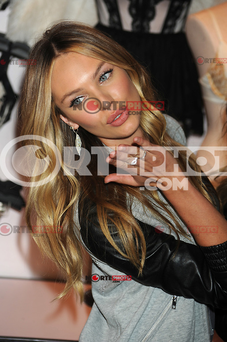 NEW YORK, NY - NOVEMBER 19: Candice Swanepoel at the 2012 Victoria's Secret Angel Holiday Celebration at Victoria's Secret, Herald Square on November 19, 2012 in New York City. Credit: mpi01/MediaPunch Inc. /NortePhoto