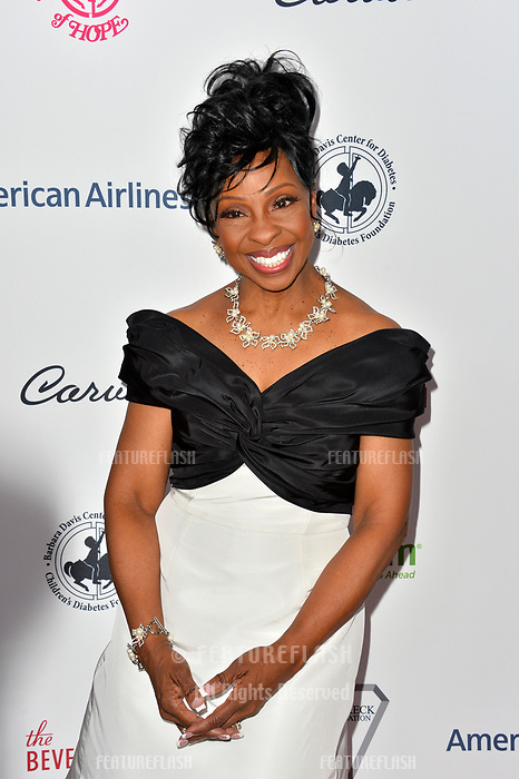 LOS ANGELES, CA. October 06, 2018: Gladys Knight at the 2018 Carousel of Hope Ball at the Beverly Hilton Hotel.<br /> Picture: Paul Smith/Featureflash