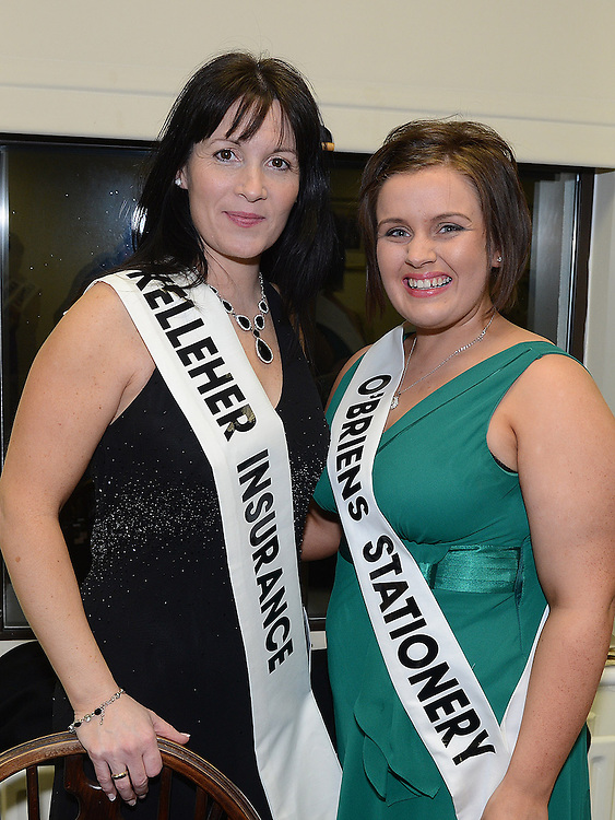 Angela O'Hare and Orla Manning pictured at the launch of Strictly Come Dancing in Ardee Golf Club. Photo:Colin Bell/pressphotos.ie