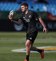 PRETORIA, SOUTH AFRICA - OCTOBER 06: Jordie Barrett of New Zealand All Blacks during the Rugby Championship match between South Africa Springboks and New Zealand All Blacks at Loftus Versfeld Stadium. on October 6, 2018 in Pretoria, South Africa. Photo: Steve Haag / stevehaagsports.com