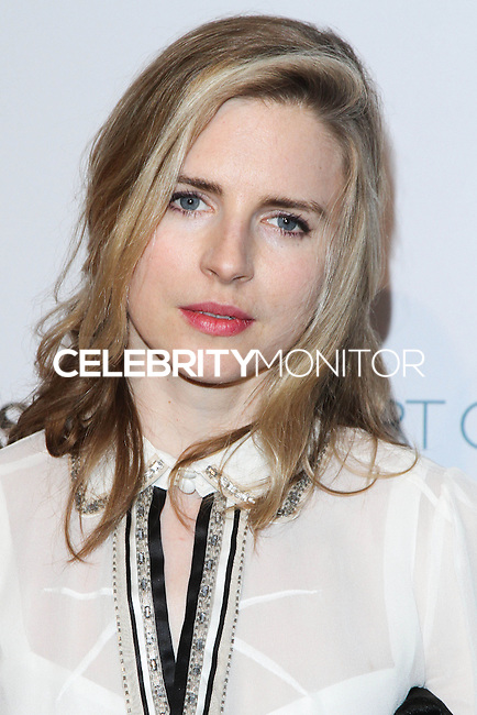 "HOLLYWOOD, LOS ANGELES, CA, USA - FEBRUARY 26: Brit Marling at The Art Of Elysium's 7th Annual ""Pieces Of Heaven"" Charity Art Auction held at Siren Studios on February 26, 2014 in Hollywood, Los Angeles, California, United States. (Photo by David Acosta/Celebrity Monitor)"