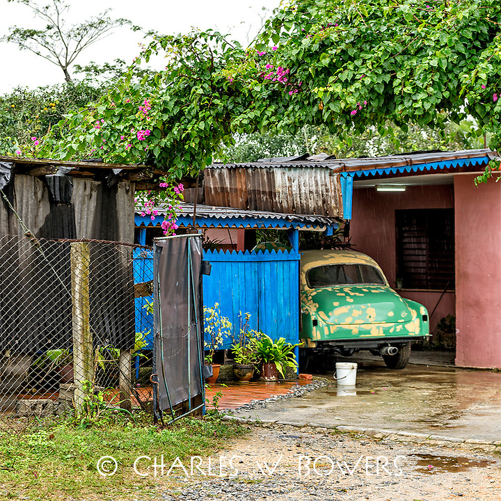 Everyday Cuba everyone needs a car port<br />