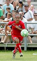 Lisa De Vanna..Saint Louis Athletica were defeated 1-0 by Washington Freedom at Anheuser-Busch, Soccer Park, Fenton, Missouri.