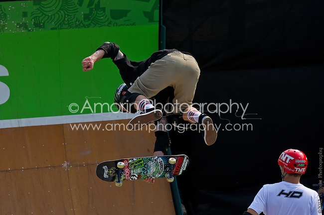 The Pantech Dew Tour Skateboard Vert Final; Ocean City Maryland August 18, 2012