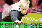 Australian Neil Robertson in action when he defeated Judd Trump at the Players championship final in the INEC on Sunday night....