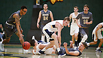 November 16, 2019; Spearfish, SD, USA; Augustana vs South Dakota Mines men's college basketball at the Donald E. Young Center in Spearfish, S.D. (Richard Carlson)