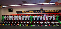 Photo before the match Chile vs Panama, Corresponding to Group -D- America Cup Centenary 2016 at Lincoln Financial Field.<br /> <br /> Foto previo al partido Chile vs Panama, Correspondiente al Grupo -D- de la Copa America Centenario 2016 en el  Lincoln Financial Field, en la foto: Vestidores de Panama <br /> <br /> <br /> 14/06/2016/MEXSPORT/Osvaldo Aguilar.