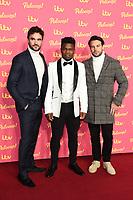 Thom Evans, Levi Davis and Ben Foden<br /> arriving for the ITV Palooza at the Royal Festival Hall, London.<br /> <br /> ©Ash Knotek  D3532 12/11/2019