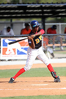 Cristian Ortega participates in the Dominican Prospect League 2014 Louisville Slugger Tournament at the New York Yankees academy in Boca Chica, Dominican Republic on January 20-21, 2014 (Bill Mitchell)