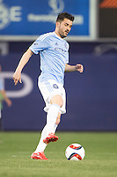 BRONX, NY - Sunday May 3, 2015: Expansion team New York City FC loses 3-1 at home at Yankee Stadium to the Seattle Sounders during the 20th MLS regular season.