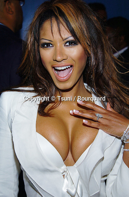 Traci Bingham arriving at the Grammy Jam Event at the Wiltern Theatre in Los Angeles.December 11, 2004.