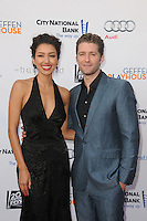 Renee Puente and Matthew Morrison  at the 'Backstage at The Geffen Fundraiser honoring Carol Burnett and Jim Gianopulos at the Geffen Playhouse in Los Angeles, California. June 4, 2012. © mpi35/MediaPunch Inc.  ***NO GERMANY***NO AUSTRIA***
