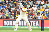 3rd December 2017, Adelaide Oval, Adelaide, Australia; The Ashes Series, Second Test, Day 2, Australia versus England; Shaun Marsh of Australia hits the ball on the off side