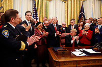 "Donald Trump Signs S. 756, ""First Step Act"" and H.R. 6964, ""Juvenile Justice Reform Act"