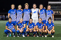 Allston, MA - Wednesday Aug. 31, 2016: Boston Breakers Starting Eleven prior to a regular season National Women's Soccer League (NWSL) match between the Boston Breakers and the Houston Dash at Jordan Field.