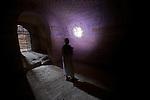 Burial Chamber of the tomb of Tanutamani. Qalhata - El Kurru  Black Pharaohs Sudan