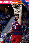 FC Barcelona Lassa's Victor Faverani during Liga Endesa match between Real Madrid and FC Barcelona Lassa at Wizink Center in Madrid, Spain. March 12, 2017. (ALTERPHOTOS/BorjaB.Hojas)