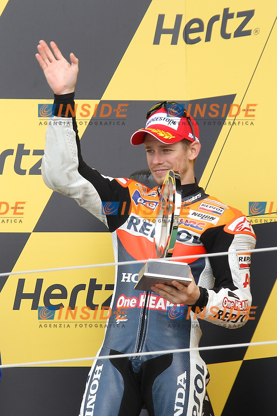 .17-06-2012 Silverstone (ENG).Motogp - motogp.in the picture: Casey Stoner - Repsol Honda team