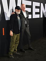 "LOS ANGELES, CA. October 17, 2018: James Jude Courtney & Nick Castle at the premiere for ""Halloween"" at the TCL Chinese Theatre.<br /> Picture: Paul Smith/Featureflash"