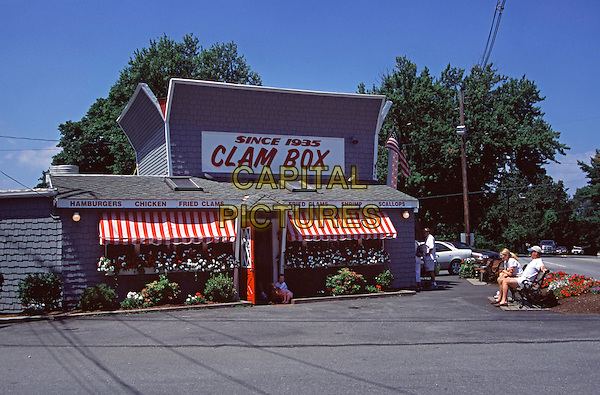 Clam Box Seafood Restaurant, established 1935, Ipswich, Essex County, Massachusetts, New England, USA