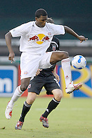 US Open Cup Quarterfinal, Red Bulls forward Edson Buddle (11) traps the ball. DC United defeated the New York Red Bulls 3-1, Wednesday, August 23, 2006 at RFK Stadium.
