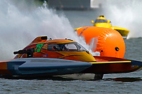 "Patrick Haworth, H-79 ""Bad Influence"", Brandon Kennedy, H-300 ""Pennzoil""    (H350 Hydro) (5 Litre class hydroplane(s)"