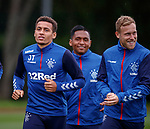 300819 Rangers training