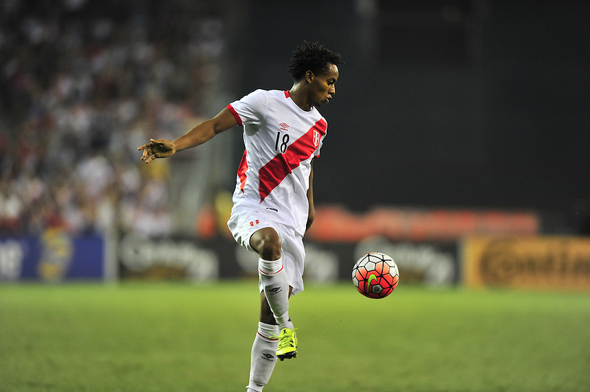 USA defeated Peru 2-1 during a Friendly Match at the RFK Stadium in Washington, D.C. on Friday, September 4, 2015.  Alan P. Santos/DC Sports Box