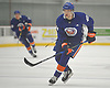 Nikolajs Jelisejevs #48 plays during the final scrimmage of New York Islanders Mini Camp at Northwell Health Ice Center in East Meadow on Saturday, June 30, 2018.