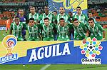 Atlético Nacional igualó 1-1 ante Envigado. Fecha 19 Liga Águila II-2019.